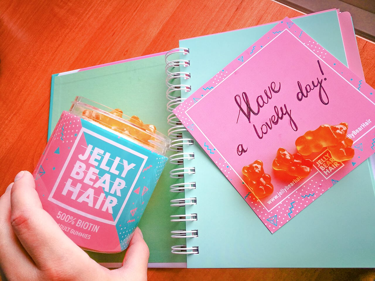Integratore per capelli sani Jelly Bear Hair: recensione