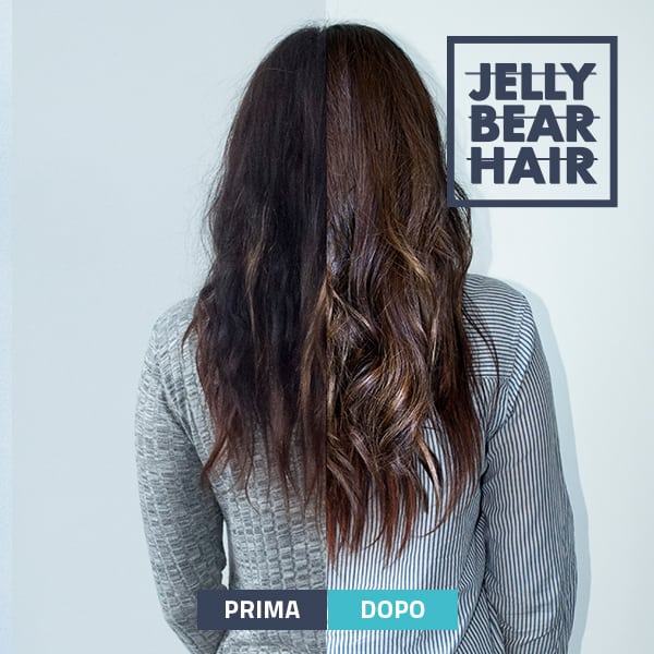 integratore per capelli: Jelly Bear Hair