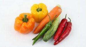 cibi sani verdure alimentazione ed esercizio fisico