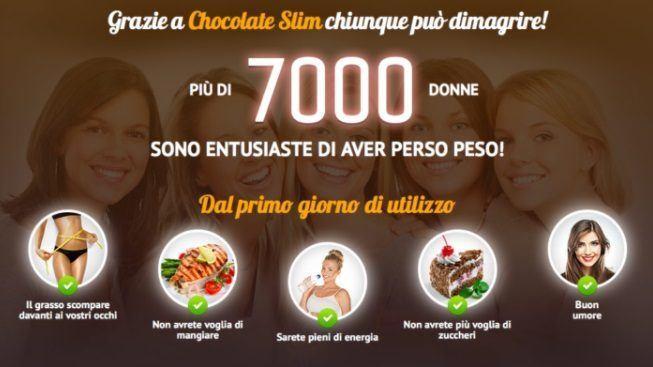Chocolate Slim per dimagrire: opinioni e prezzo scontato.